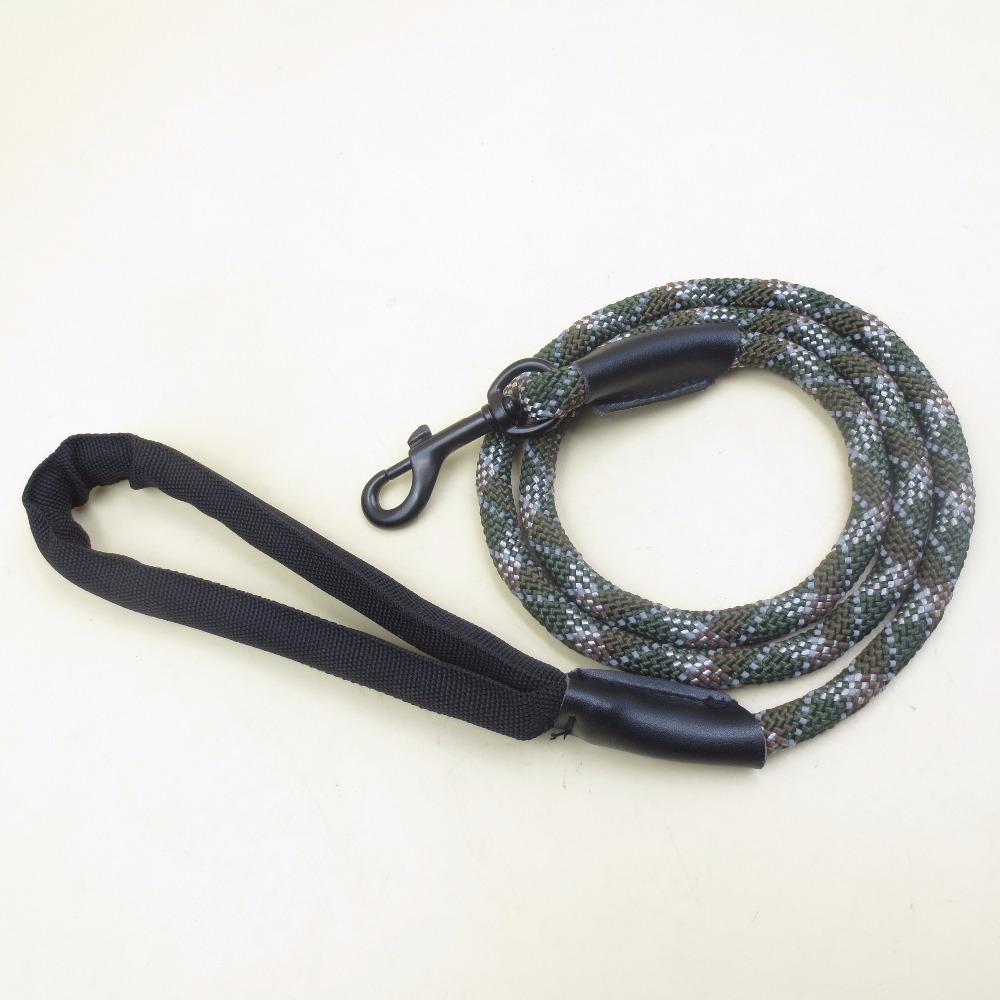 camo color 10/12mm 48 strand braided climbing rope nylon rope dog leash