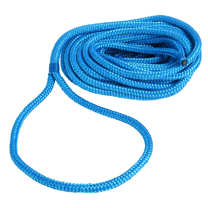 3/8x15ft double braided dock line mooring rope