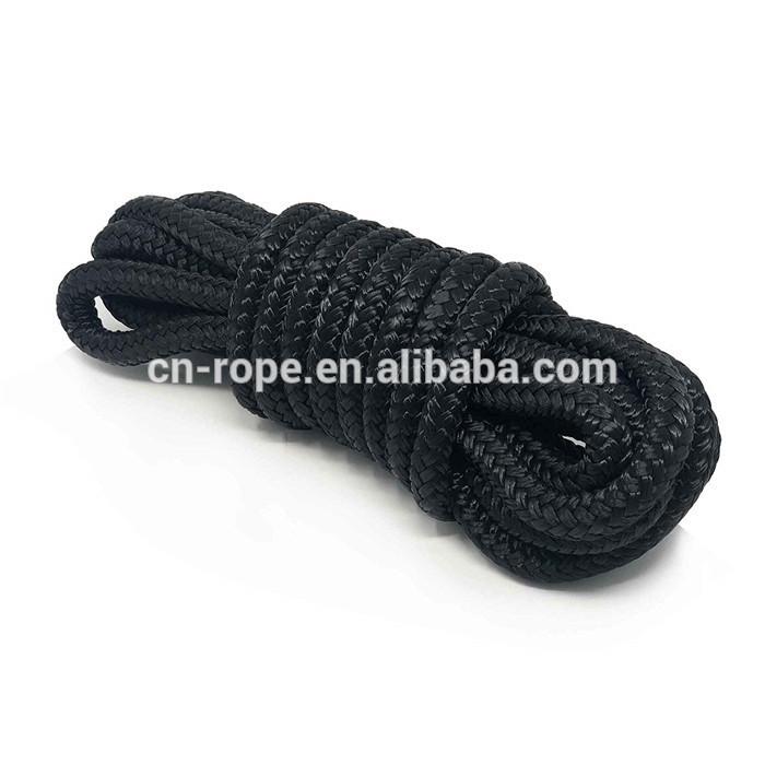 braid on braid marine water rope,double braided nylon dock line