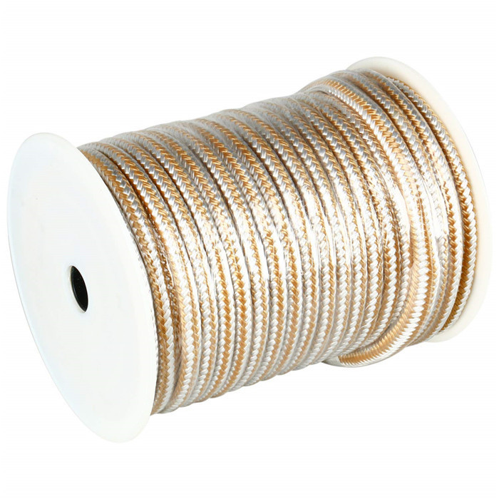 double braid nylon anchor line with thimble-5/8