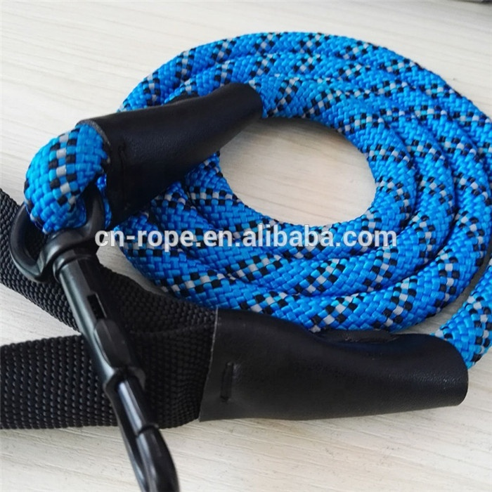 climbing rope dog leash for pet accessory with nylon core