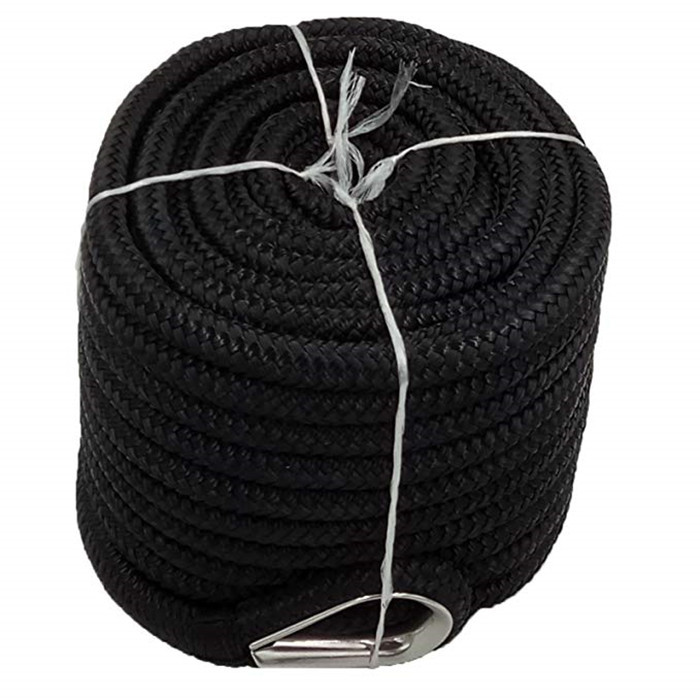 20mm braided High quality car accessories nylon tow rope recovery winch ropes