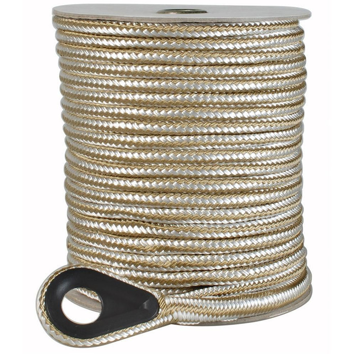 double Braided Nylon Anchor Rope - 3/8
