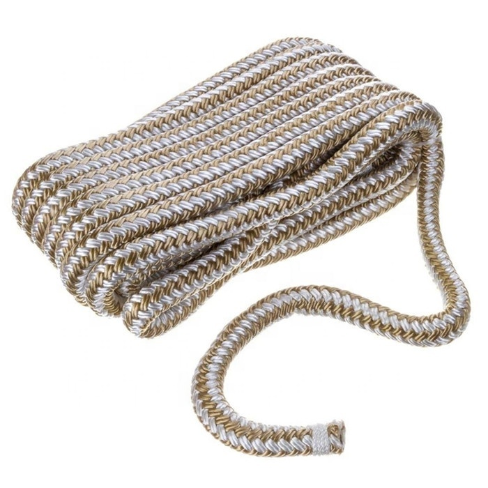 Double Braided Boat Nylon Dock Line Rope 3/4