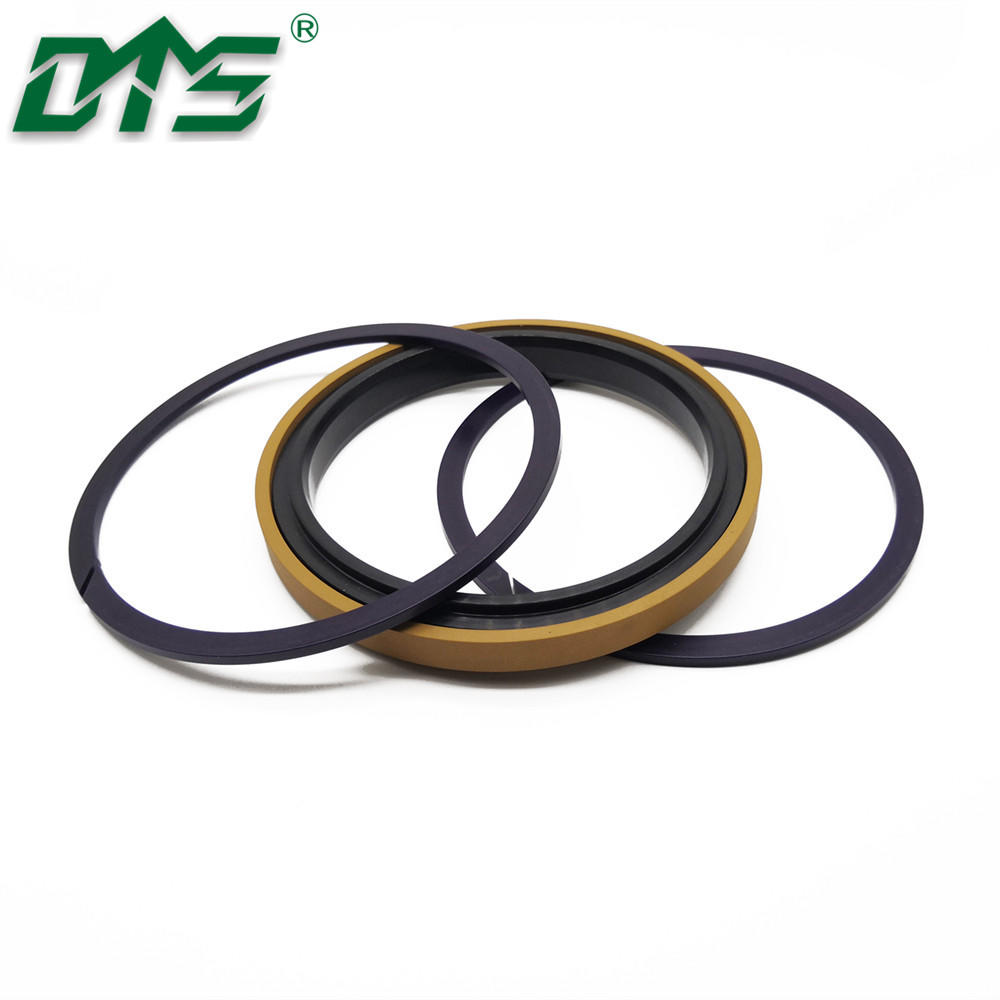 Piston Seal Golden Color Bronze PTFE SPGW For Hydraulic Seals For Cylinders