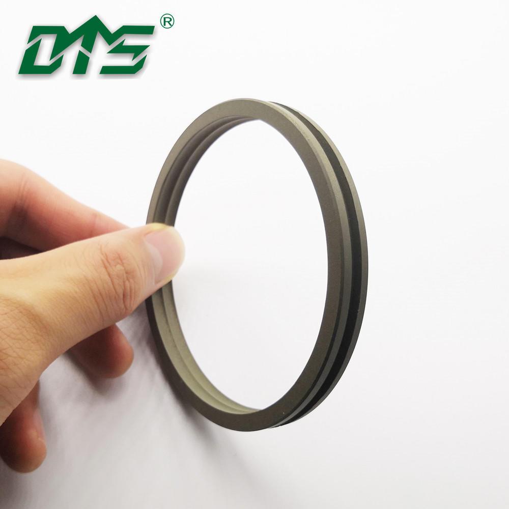 Green 40%Bronze PTFE Hydraulic Piston Seals DAQ2 For Hydraulic Cylider