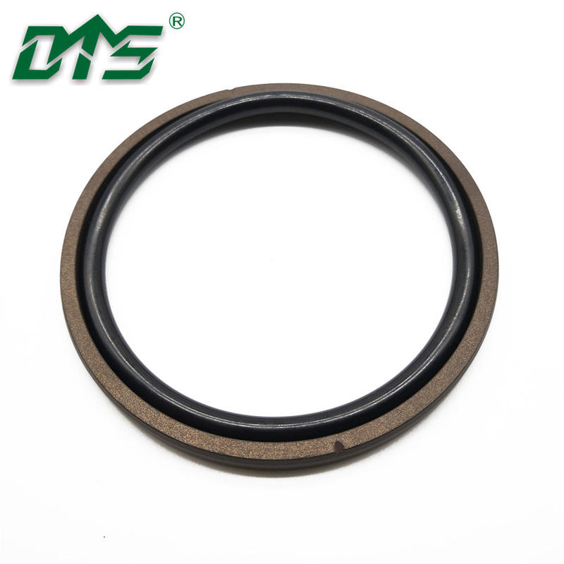 Bronze PTFE and FKM O Rings Excavator Hydraulic Piston Seals SPGO