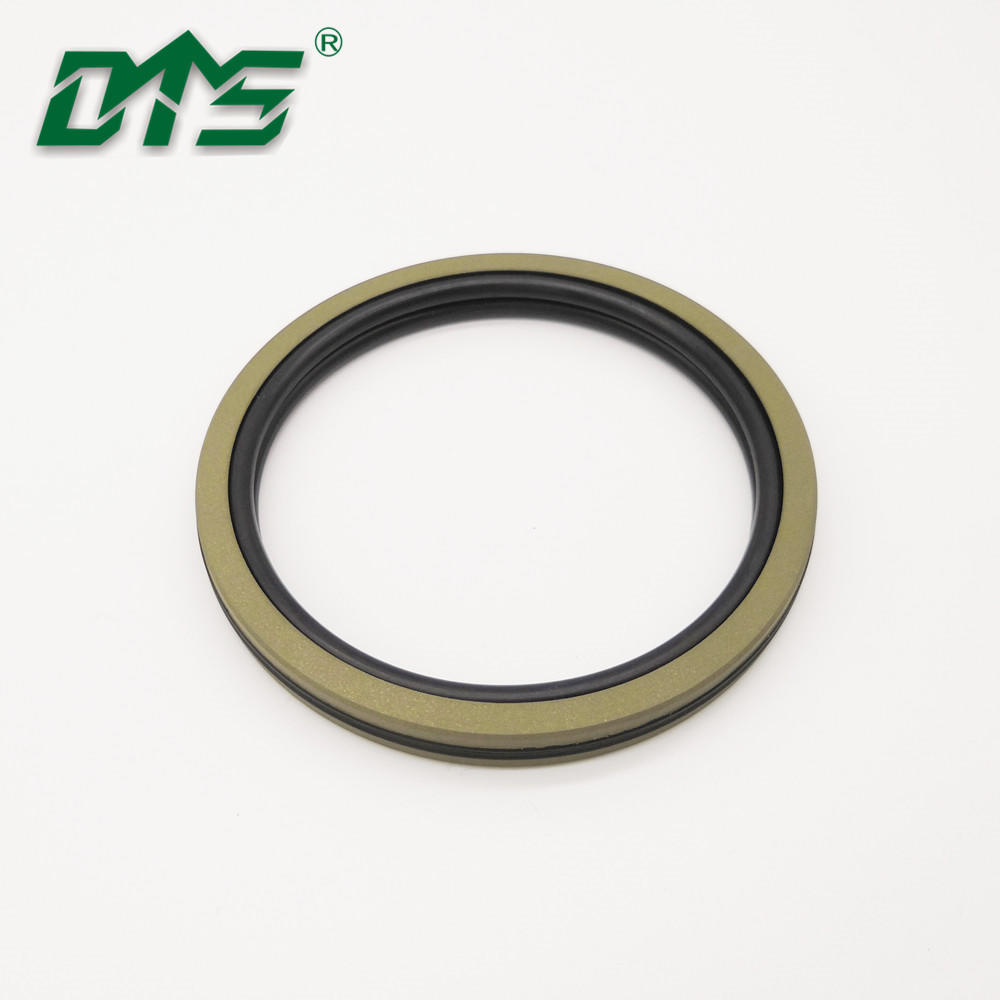 High pressure PTFE Bronze+NBR/FKM Piston Seals DAQ2 For Hydraulic Cylider