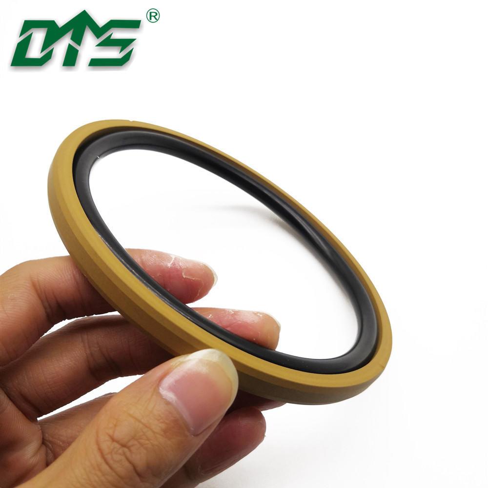 Golden Color Bronze PTFE Cylinder Seals Double Acting Piston Seals SPGO D Rings