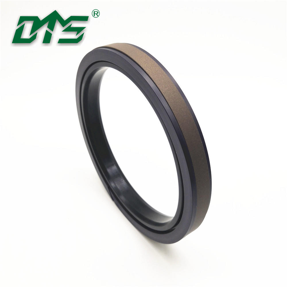 Hydraulic cylinder compact and combined piston seal SPGW with PTFE NBR and POM