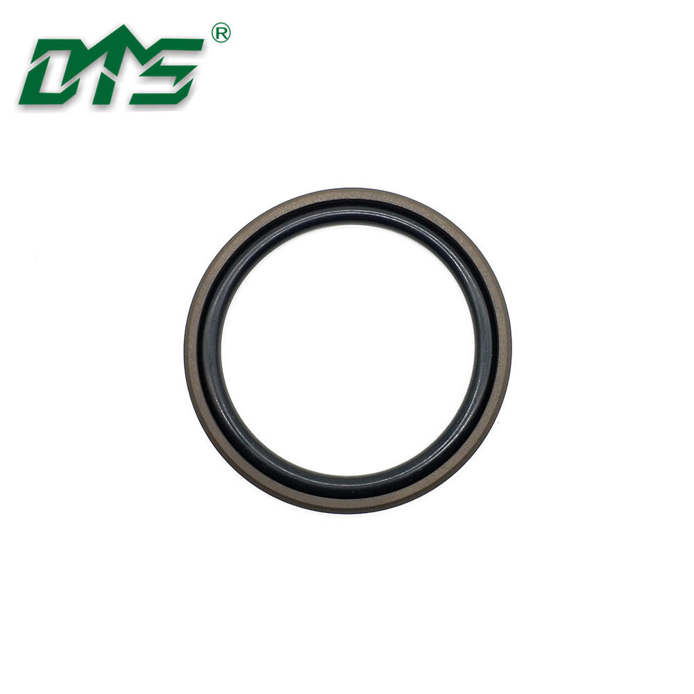 Brown Color PTFE Bronze Excavator Hydraulic Cylinder Glyd Ring Seals GSD