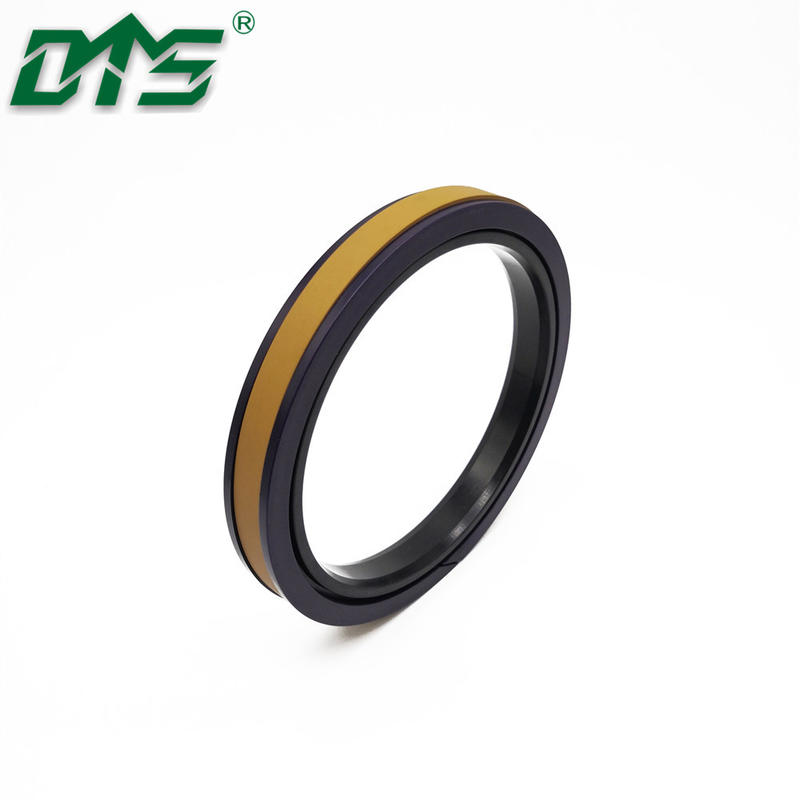 Hydraulic Cylinders Piston Seals Golden SPGW Bronze Filled PTFE with NBR and POM