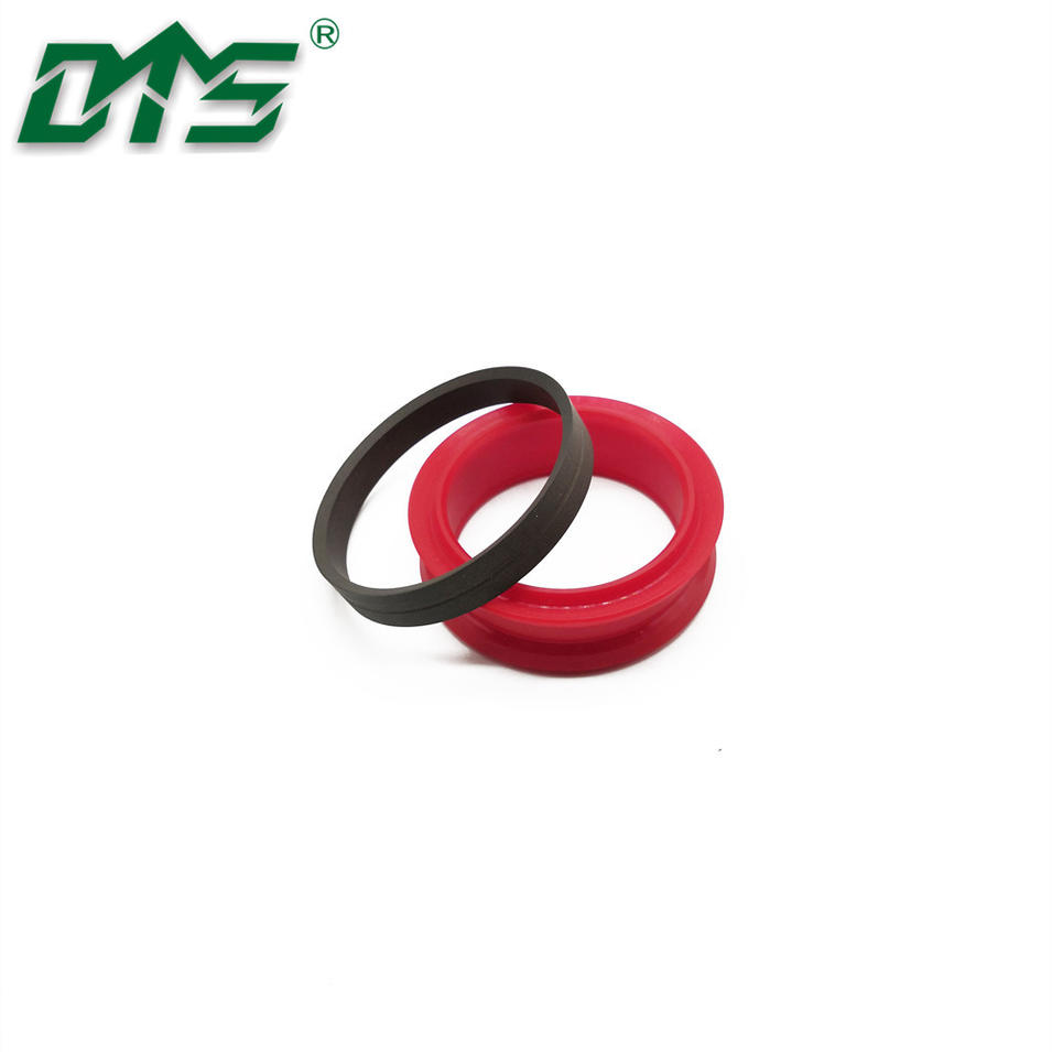 PU and PTFE piston series seal DDMA is suitable for a variety of fluids