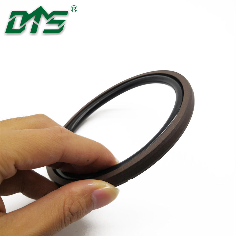 High quality 40% Bronze and PTFE Brown Color glyd ring and piston seal SPGO for hydraulic cylinder