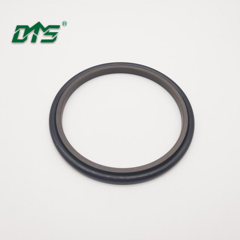 40% bronze filled PTFE brown hydraulic shaft retaining rod ringGSI