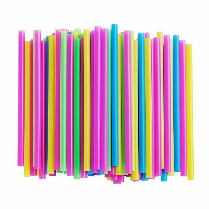 PLA plant based biodegradable straws manufacturer with assorted colors and boxes stocks