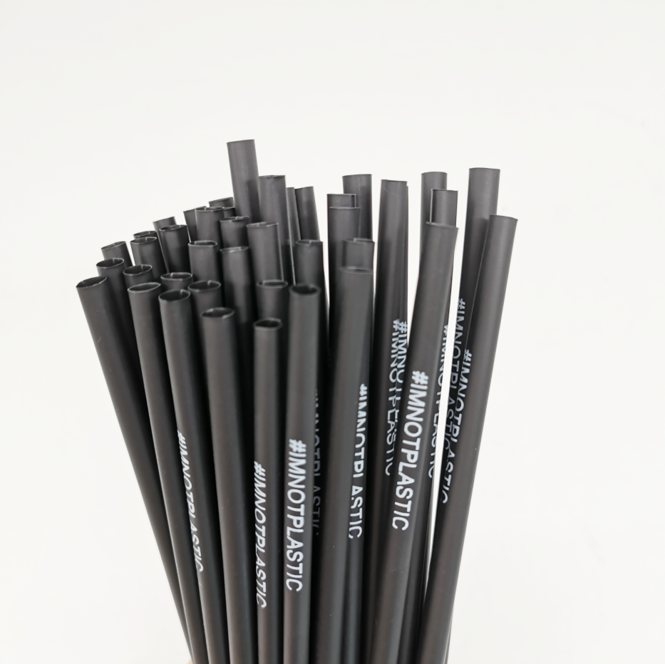 Eco Friendly Plastic Biodegradable Flexible PLA Drinking Straw Wholesale Compostable Straw