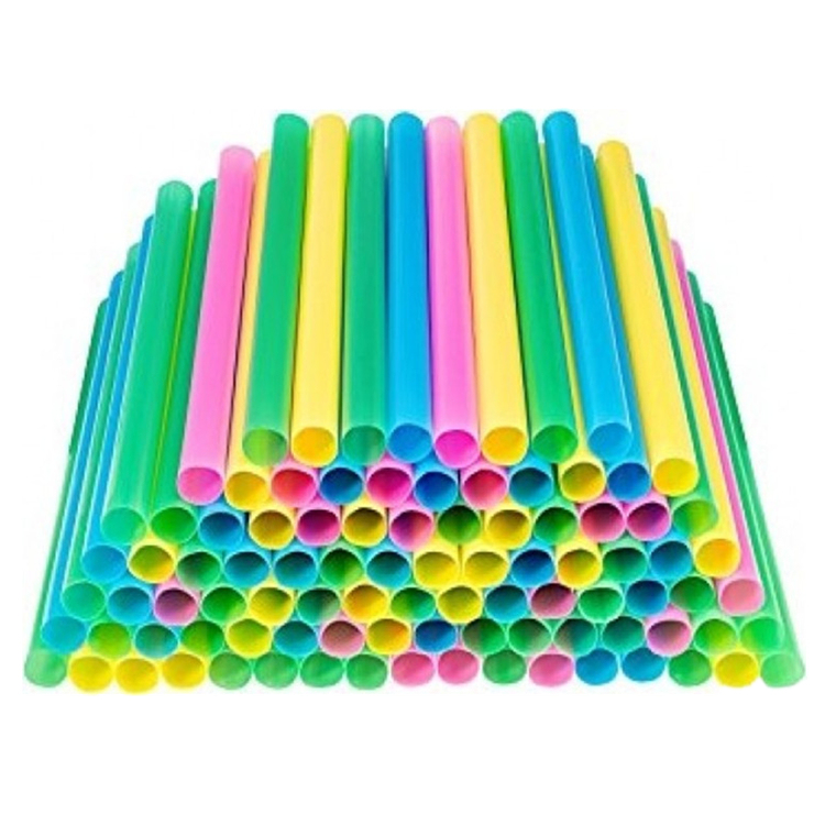PLA Biodegradable Straws Plant Based Compostable Manufacturer with Assorted Colors and Custom Services