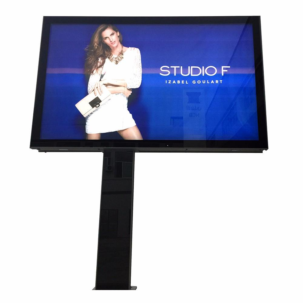 Outdoor scrolling billboards large advertising lightbox billboard