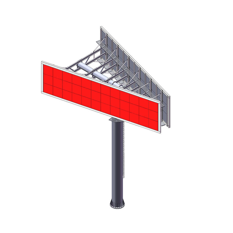 Outdoor LED advertising board price led signboard billboard