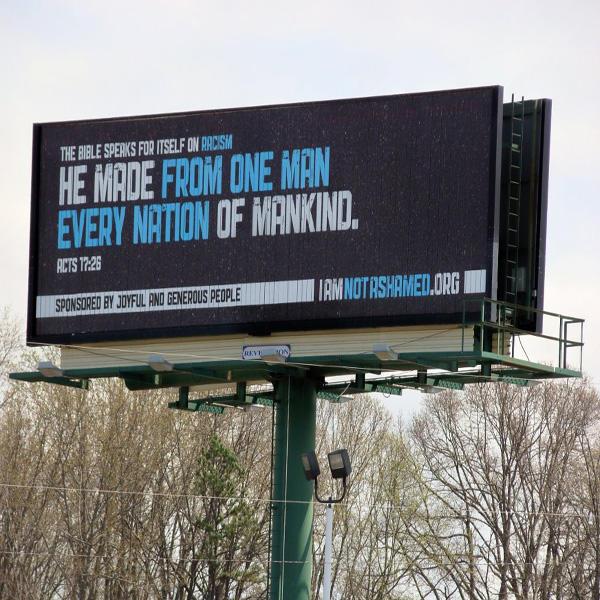 Outdoor furniture advertising frontlit billboard unipole equipment