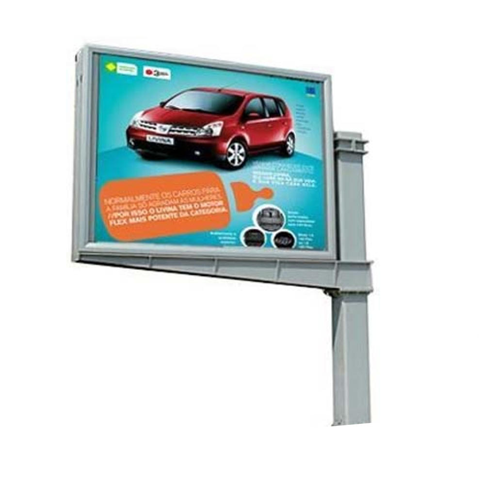 High quality rotating poster scrolling outdoor advertising billboard