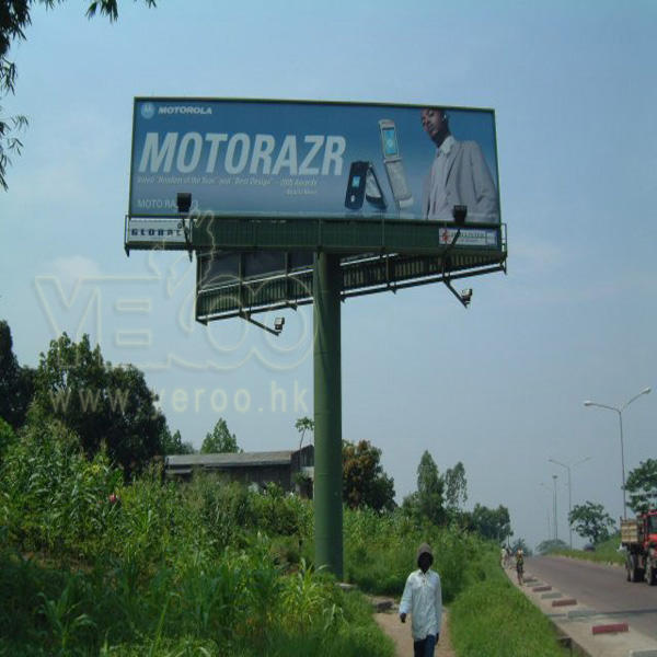 Used billboard electronic outdoor advertising signs steel structures