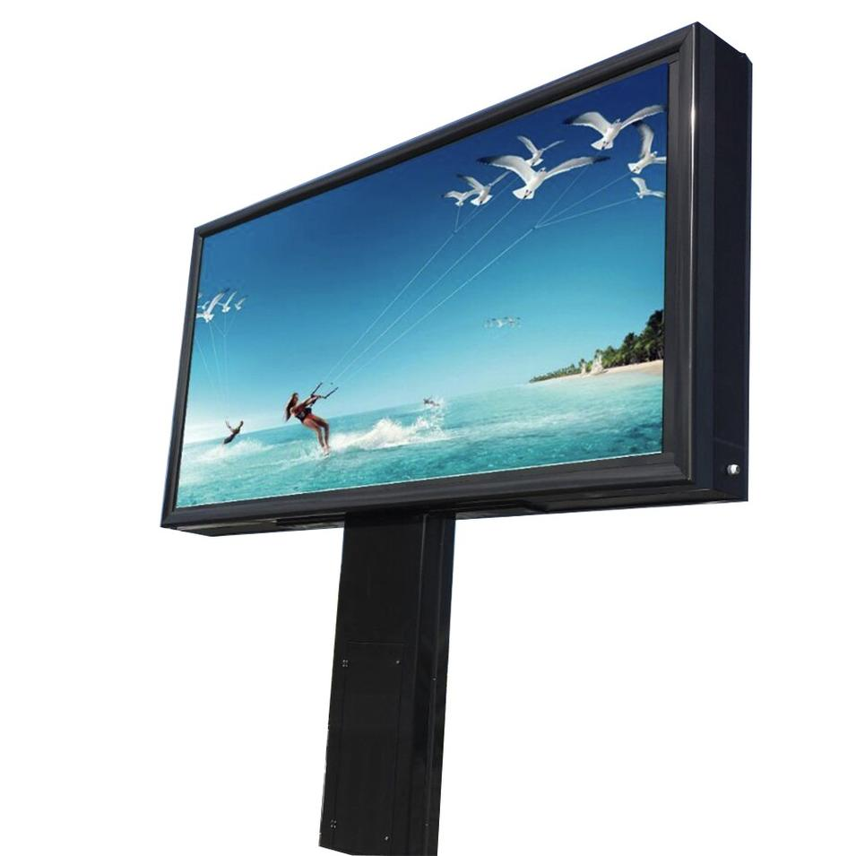 YEROO Manufactured Lightbox Scrolling Billboard Outdoor Advertising