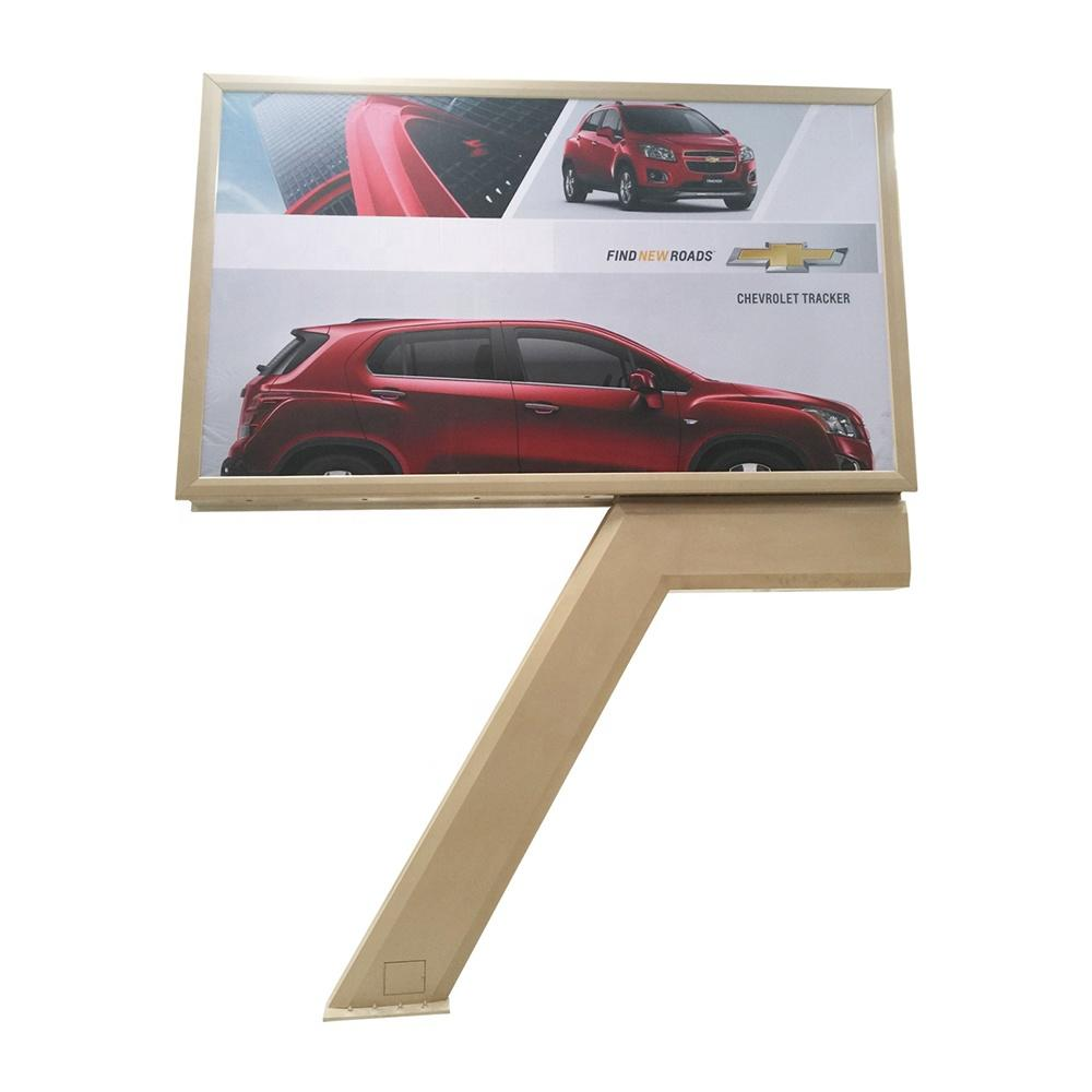 Outdoor Double Sided Advertising Scrolling Billboard