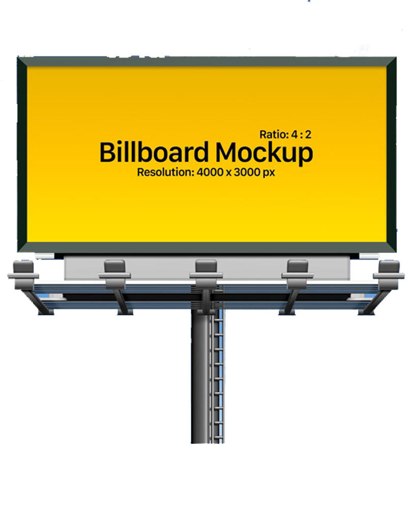 Outdoor advertising billboards steel structure poles frame for sale