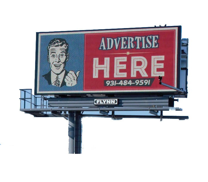 Outdoor advertising V shaped steel material billboard structure