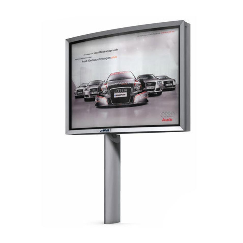 Outdoor Furniture Steel Structure Advertising Billboard
