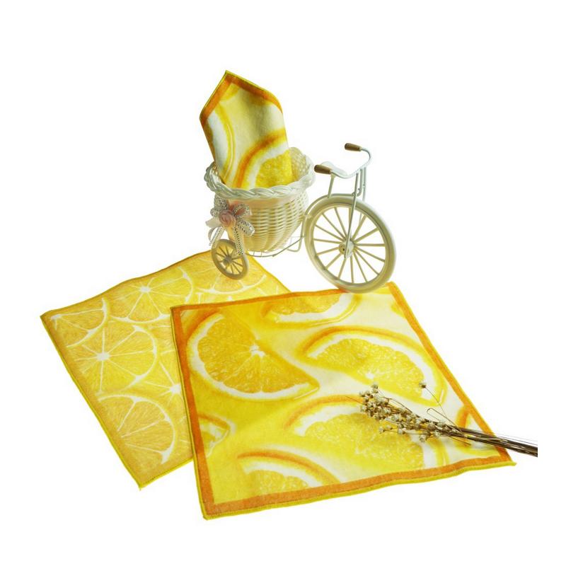 100% Cotton Decorative Kitchen Towel Tea Towel for Kids Gift
