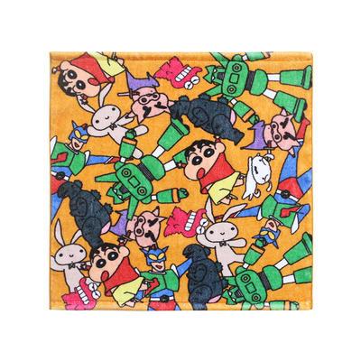 100% cotton custom Crayon Shin-chan cartoon print hand cotton towel