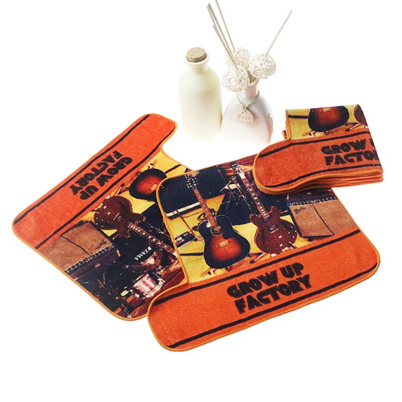 Popular cotton leopard digital print towels