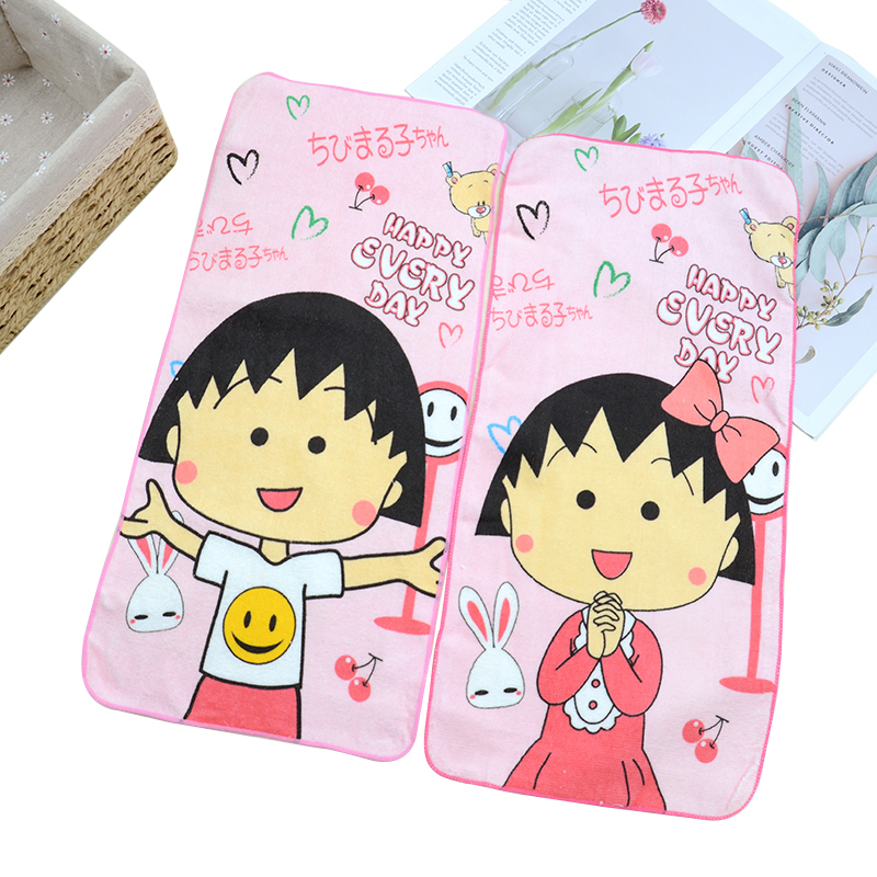 100% cotton custom Printed Face Towels