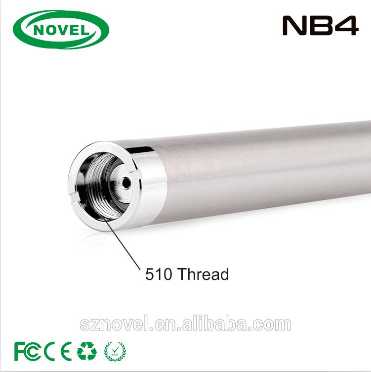 China wholesale 280mah battery slim ecig NB4 battery 280mah battery