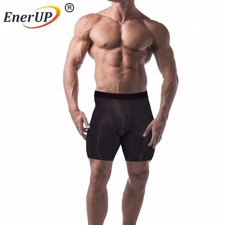 NEW copper ion fashion sports wear compression short for men