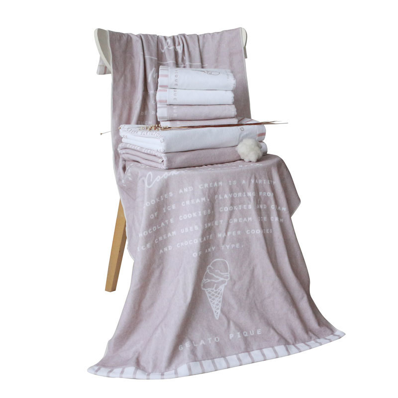 supply high quality photo digital printed beach towel customized design