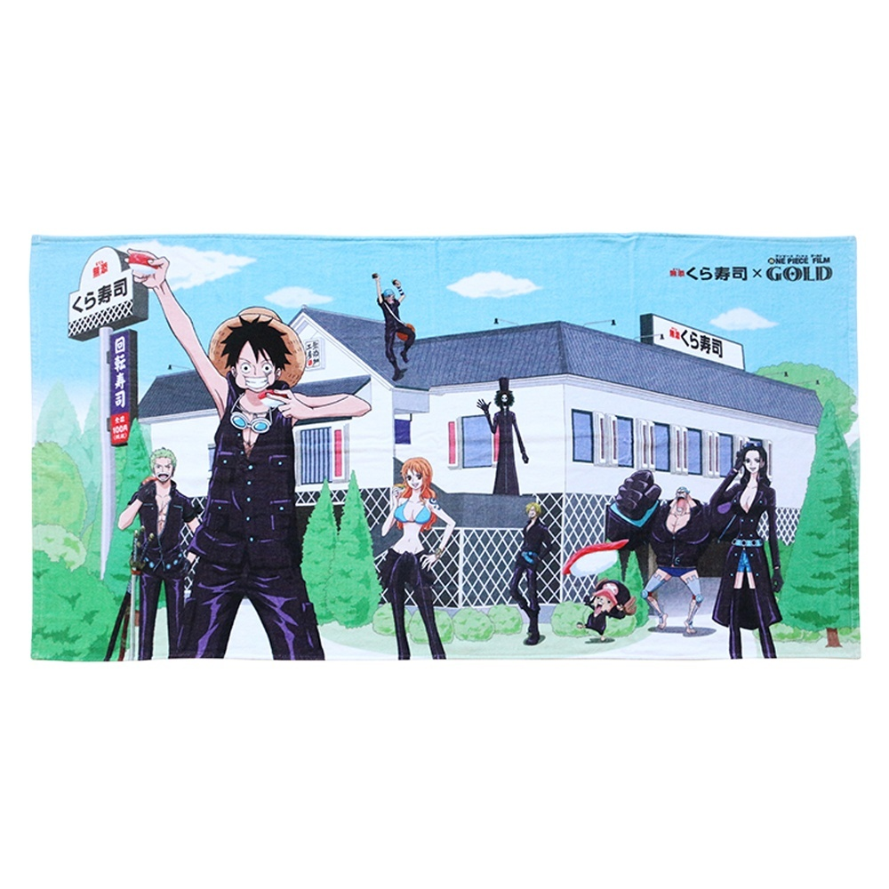Popular products 2018 anime character cotton custom beach towel for the show