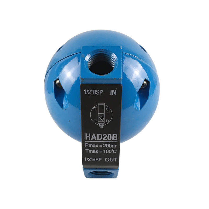 Blue Yellow 1/2 BSP HAD20B Air Compressor Float Automatic Condensate Drain Valve