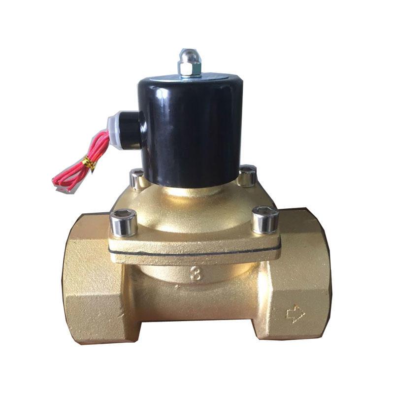 3inch 4inch Water Valve 2/2 Way Big port Direct Acting Brass Solenoid valve