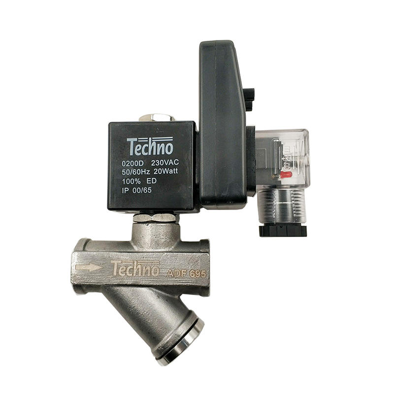 Timer Drain Valve Stainless Steel 304 ADF-695 1/2 Pneumatic Auto Automatic Water Drain Valve