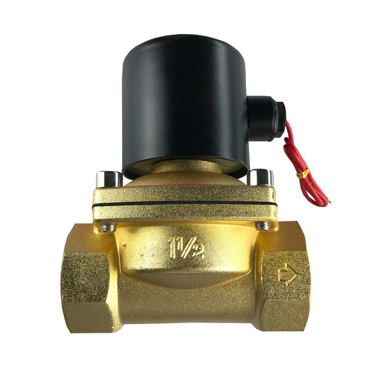 Normally Closed 2/2 Way Direct Acting Brass 1/2 inch water solenoid valve
