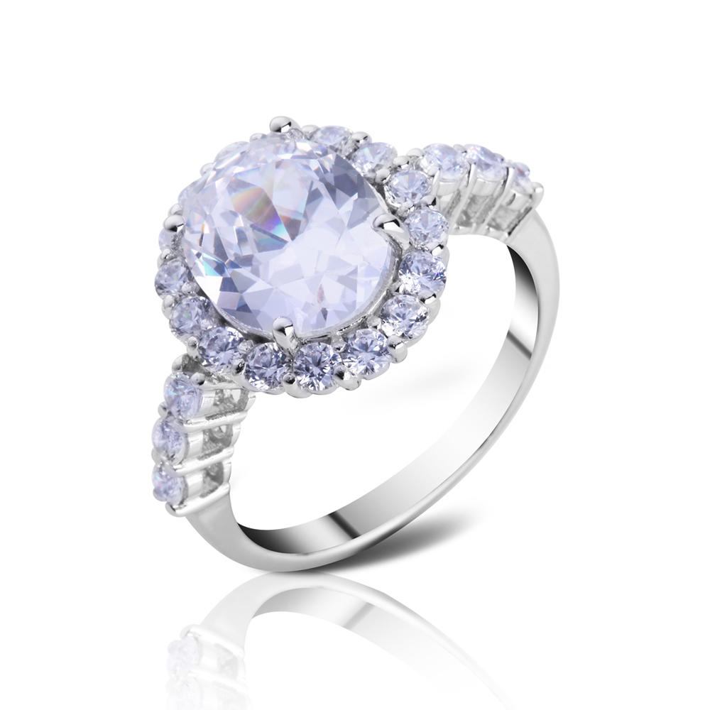 Low moq italian gemstone silver rings jewelry