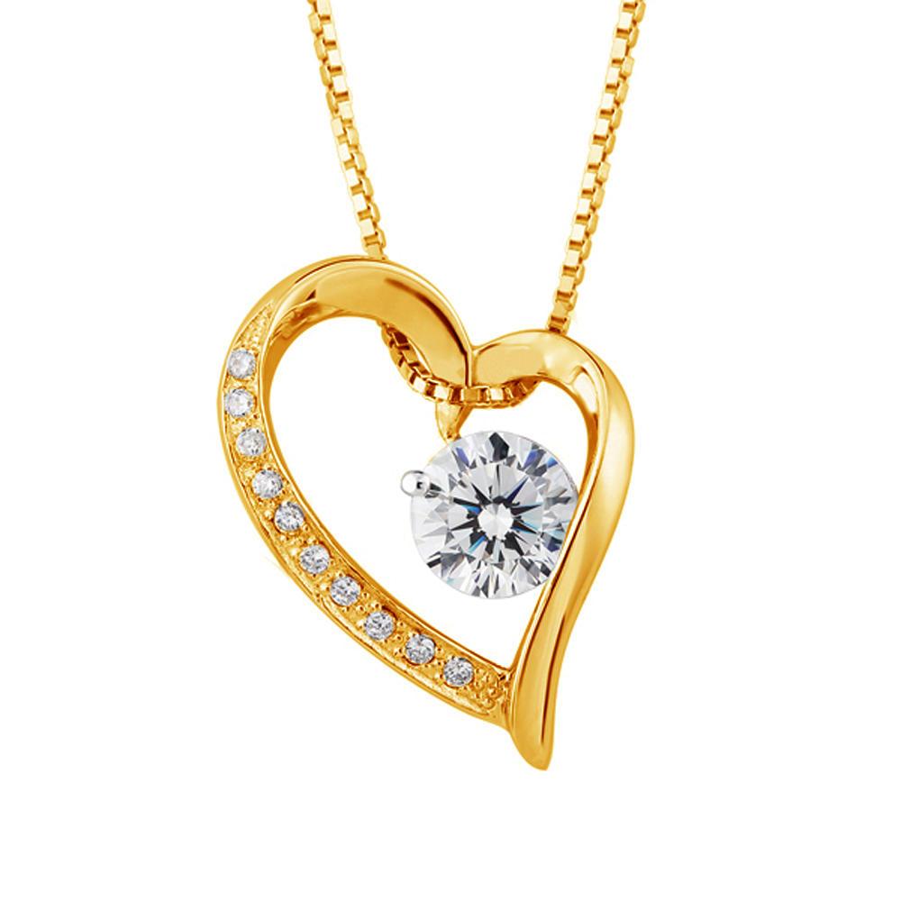 Wholesale 925 Silver Best Friend Stone Heart Choker Necklace