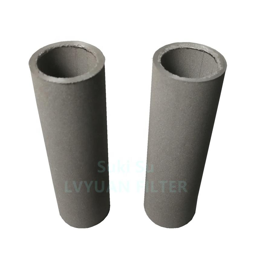 High temperature Pressure Sintered porous Metal stainless steel filter tube for filtering elements nitrogen natural gas