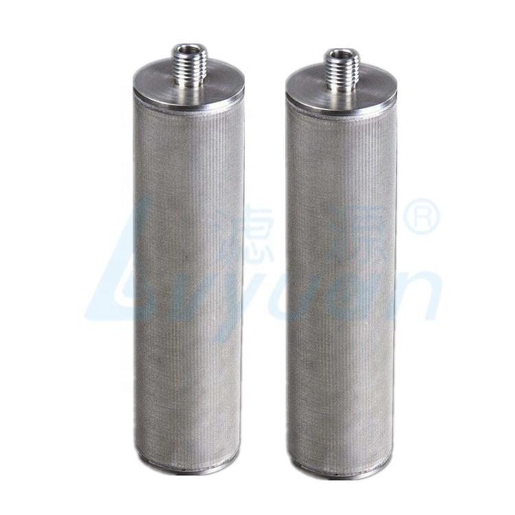 0.2 1 3 5 100 micron Reusable stainless steel mesh water filter cartridge for oil refining industry