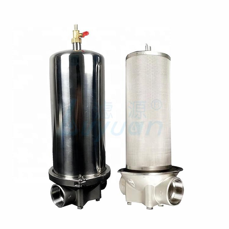 Drinking water purification system metal filter cartridge 5 10 20 30 40 inch pre filtration washable metal mesh filter