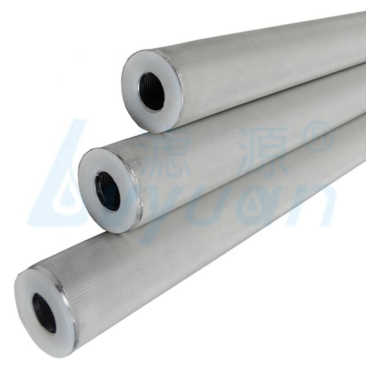 100 micron water filter industrial stainless steel cartridge filter and housing for liquids filtration